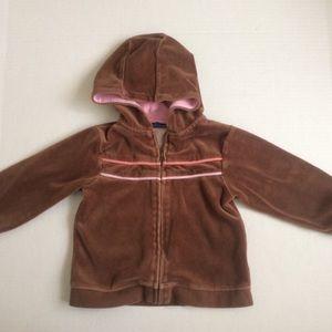 Greendog Brown zip hoodie